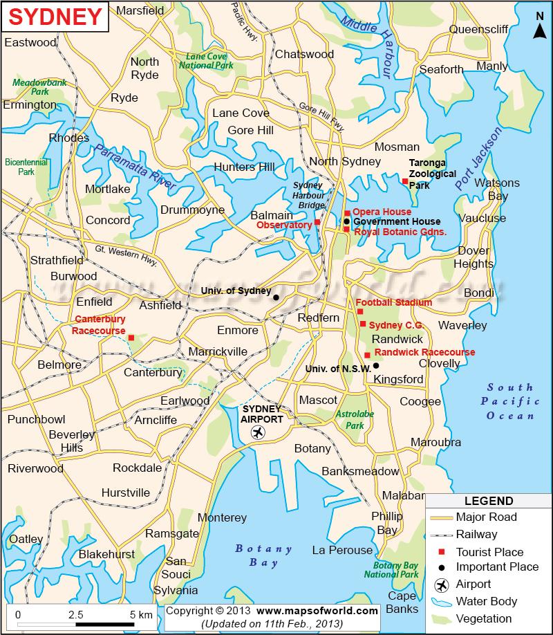 Where Is Sydney Australia On A Map.Map Of Where Sydney Is Located Kielcaitlynsydney